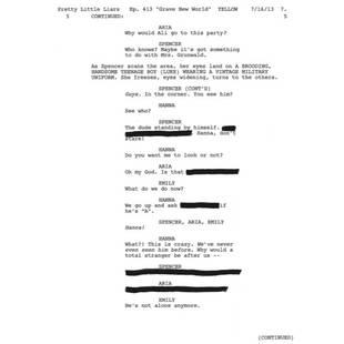 Pretty Little Liars Halloween Episode Spoilers: Is Luke Working With Ezra? (PHOTO)