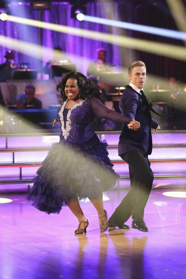 Dancing With the Stars: Did Len Goodman Underscore Amber Riley and Derek Hough's Foxtrot?