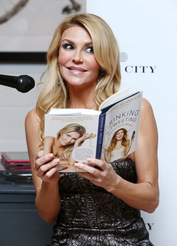 When Is Brandi Glanville's Second Book, Drinking & Dating, Released?