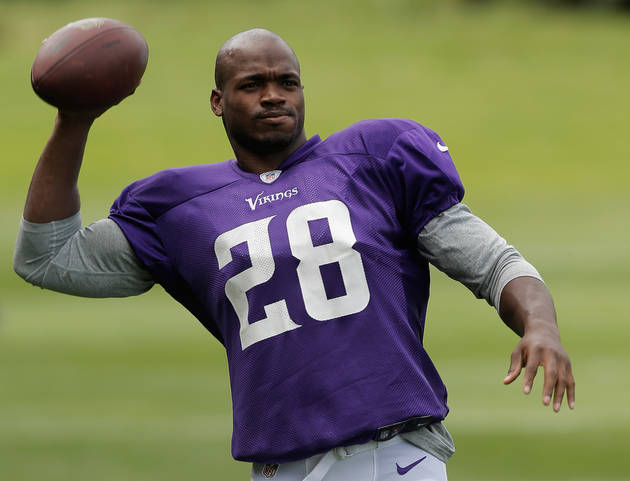 NFL Star Adrian Peterson's 2-Year-Old Son Confirmed Dead (UPDATE: Adrian Met His Son in Hospital)