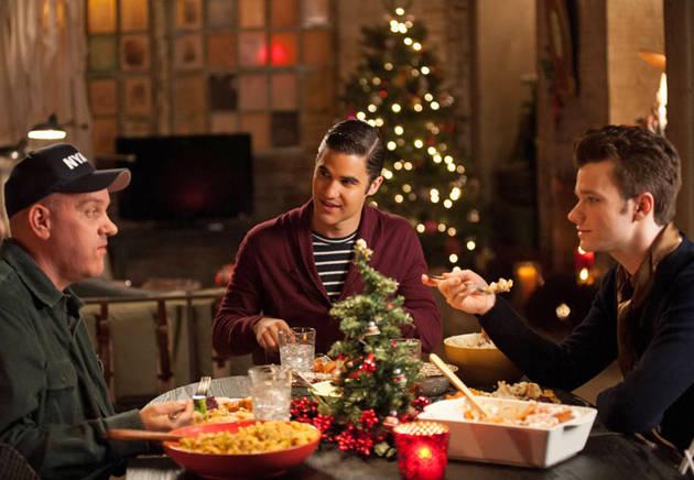Kurt's Dad's New Show! Chris Colfer Plugs Mike O'Malley's NBC Comedy