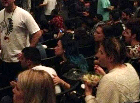 Demi Lovato Spotted Out on Date With Ex Joe Jonas — Well, Sorta