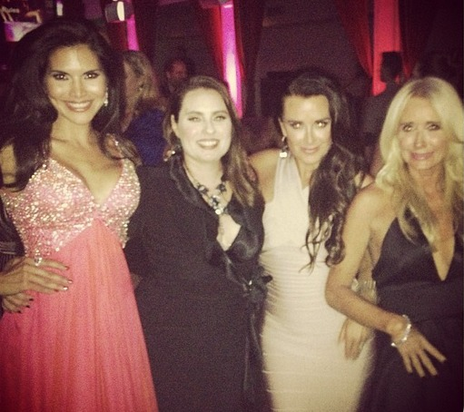 Which Housewives Did Joyce Giraud Hang Out With at the RHoBH Premiere Party? (PHOTOS)