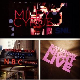 Miley Cyrus Murders Hannah Montana! But No Liam Hemsworth or Sinead on SNL