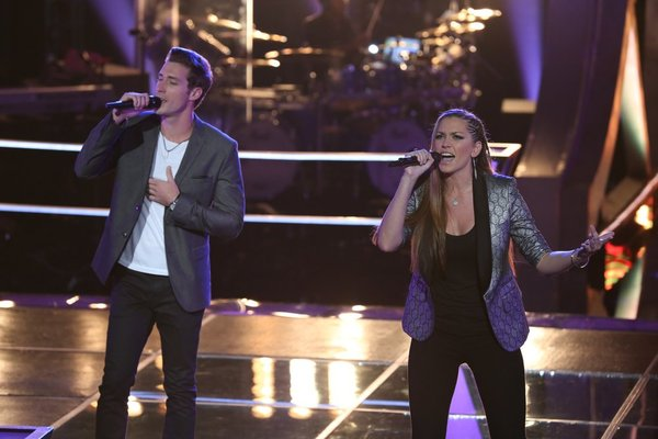 """Watch Monika Leigh and Ray Boudreaux Sing """"Some Kind of Wonderful"""" on The Voice 2013 Battle Rounds (VIDEO)"""