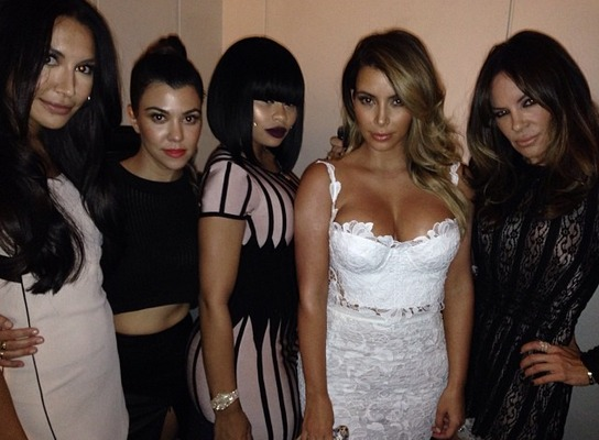 Glee's Naya Rivera at Kim Kardashian's Vegas Birthday Party (PHOTOS)
