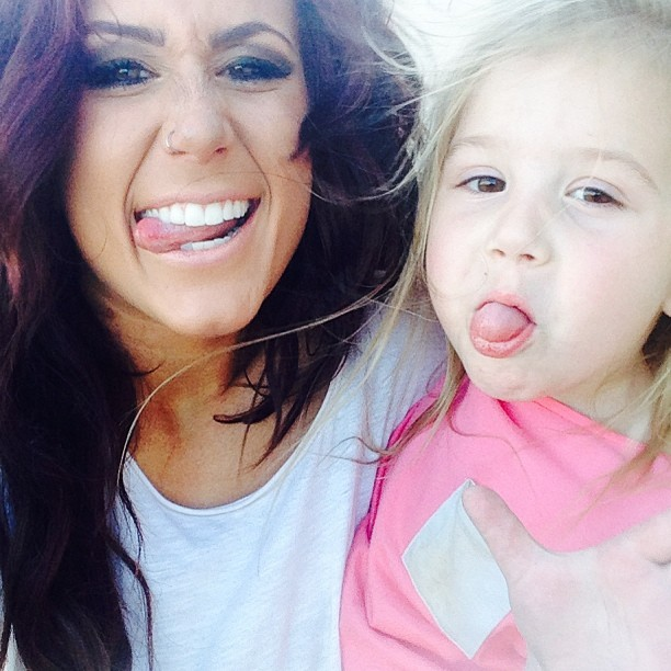 """Chelsea Houska's Daughter Aubree Sings """"Wrecking Ball,"""" Melts Our Hearts"""