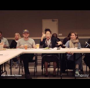 Grey's Anatomy Season 10 Spoilers: Cast Reacts to Incredible Table Read (PHOTO)
