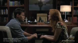 Grey's Anatomy Sneak Peek: Season 10, Episode 8 — April and Matthew Talk Sex (VIDEO)