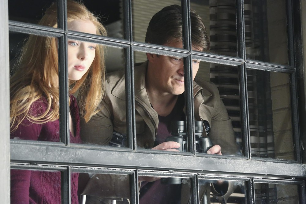 """Castle Season 6 Exclusive: Molly Quinn Says Acting Out Father-Daughter Rift With Nathan Fillion Is """"Very Hard"""""""