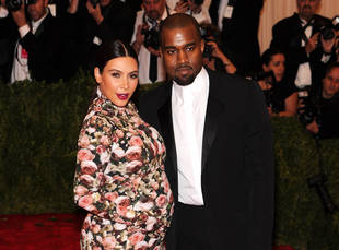 Kim Kardashian, Kanye West Take North West Out to Dinner — See Pics!