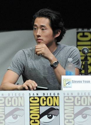 Steven Yeun Makes People Magazine's Sexiest Men Alive List: See Him Shirtless! (VIDEO)