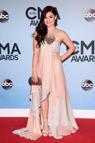 Lucy Hale Looks Pretty in Pink at the 2013 CMAs — Love It or Leave It? (PHOTO)