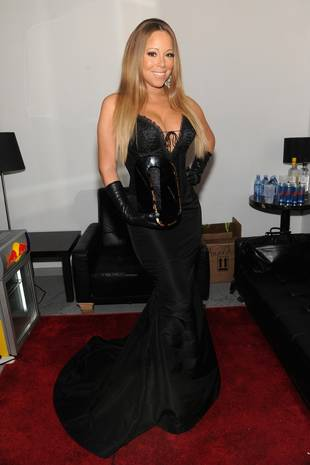 Mariah Carey Flaunts Crazy Cleavage in Corset Dress at Out100 Awards: Hot or Not? (PHOTO)