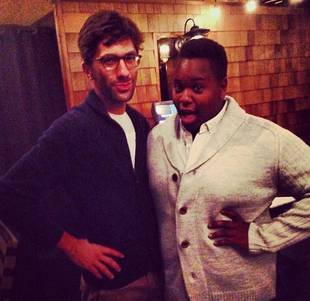 Glee's Alex Newell (Unique) Meets Nev from Catfish — Really!