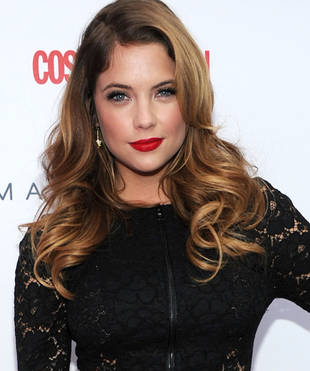 30 Seconds of Style: Ashley Benson's Dramatic Red Pout