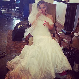 "Kaley Cuoco: ""I Was Very Sad"" Before ""Crazy"" Romance With Fiance Ryan Sweeting"