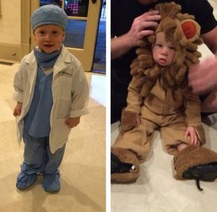 Pregnant Kim Zolciak's Sons Rock Adorable Halloween Costumes (PHOTOS)