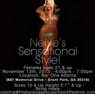 NeNe Leakes Is Looking For Curvy Models