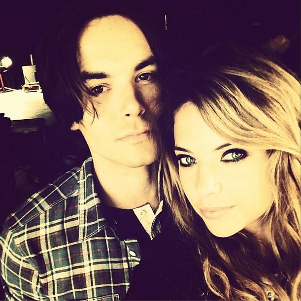 Ashley Benson and Tyler Blackburn Take an Adorable Family Selfie (PHOTO)