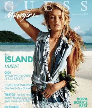 Yolanda Foster's Daughter Gigi Stuns on the Cover of Guess Magazine (PHOTO)