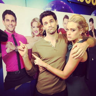 Brant Daugherty and Peta Murgatroyd React to Dancing With the Stars 2013 Elimination