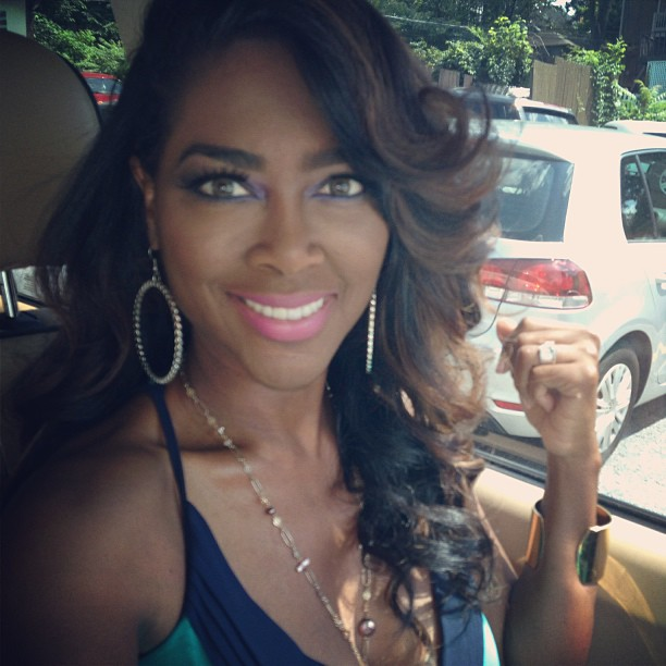 Kenya Moore Releases Texts From Apollo Nida to Prove He's Lying