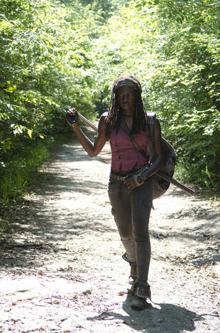 """Danai Gurira Talks Michonne's """"Specific PTSD"""": Will We Ever Know What Caused It?"""