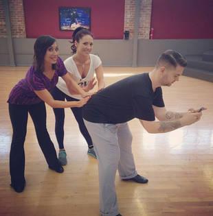 Dancing With the Stars Season 17, Week 9: Jack Osbourne, Cheryl Burke, and Sharna Burgess's Trio Samba