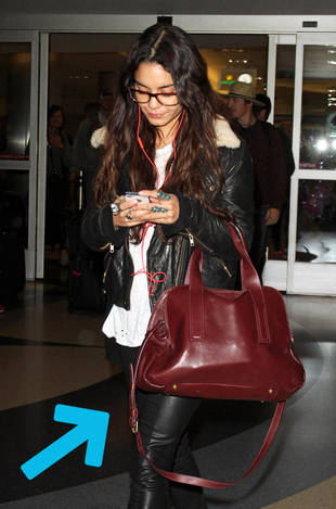 30 Seconds of Style: There Will Be (Ox)Blood for Vanessa Hudgens