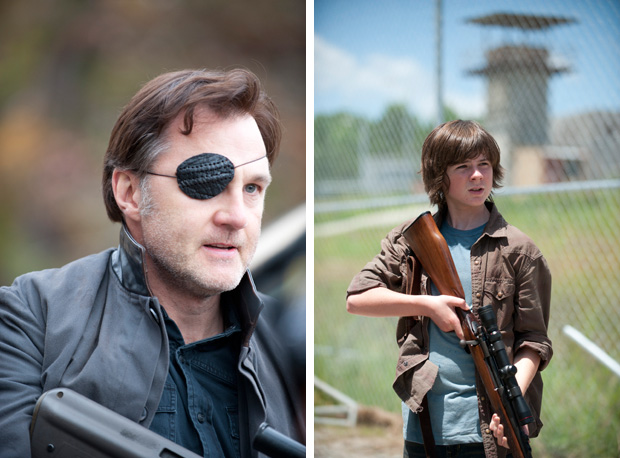 Would You Rather Be Stuck in the Prison With Carl Grimes or The Governor?