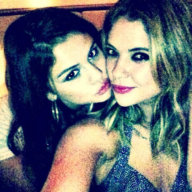 Ashley Benson Supports Bestie Selena Gomez at Staples Center Concert (PHOTO)