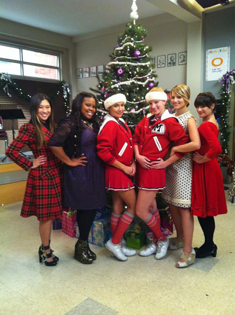 Glee Season 5 Christmas Spoiler: Which Glee Exes Are Filming Together?