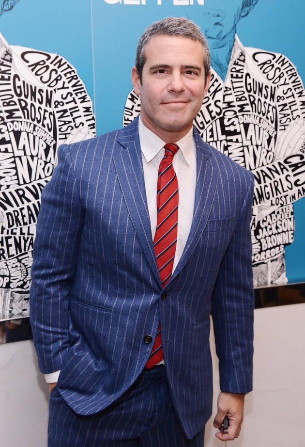 """Andy Cohen: """"I'm in Love"""" — But Who Is He in Love With?"""