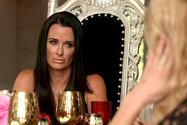 Real Housewives of Beverly Hills OMG Moments From Season 4, Episode 3 — Brandi Shocks Kyle!