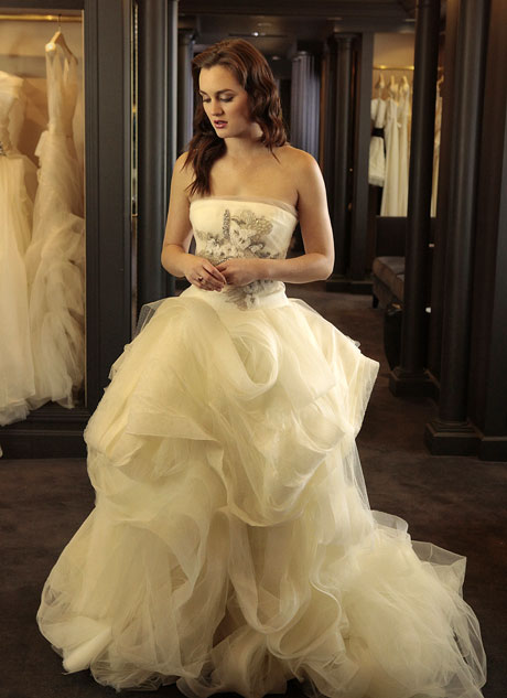 What Will Leighton Meester Wear For Her Wedding?