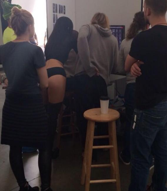 Kendall Jenner Bares Butt, Nipples in Latest Modeling Pics