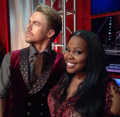 Amber Riley Wins DWTS 2013: Lea Michele and Glee Stars React