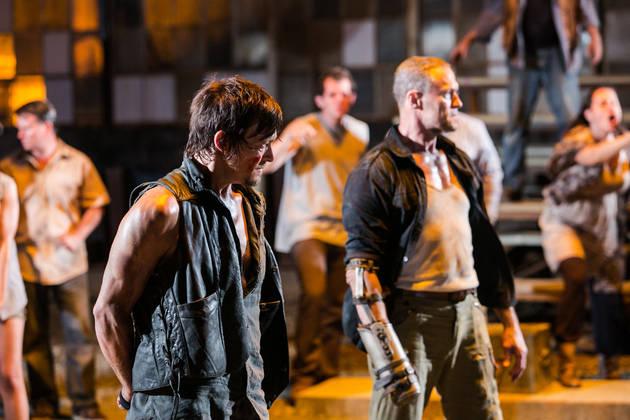 The Walking Dead's Greg Nicotero Says Merle Dixon's Death Was Unplanned