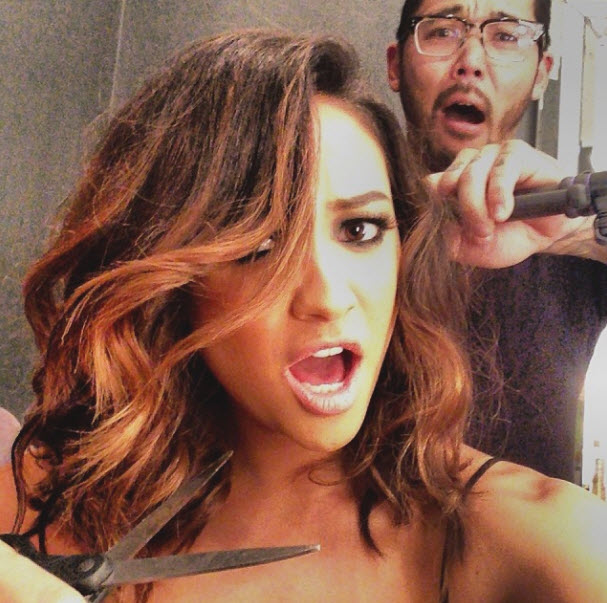 Pretty Little Liars Star Shay Mitchell Debuts a Faux Bob — How To Get Her Chic 'Do!