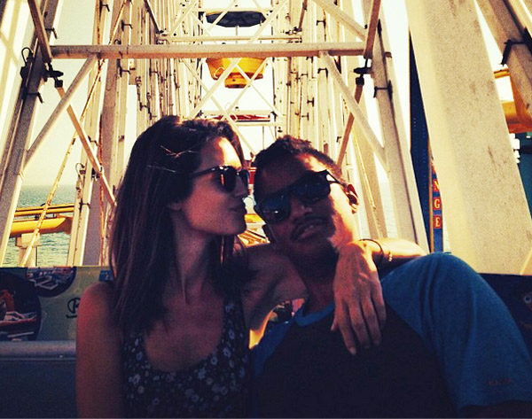 Torrey DeVitto and carlos munoz