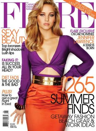 Jennifer Lawrence Magazine Cover Seriously Photoshopped — See the Before-and-After!