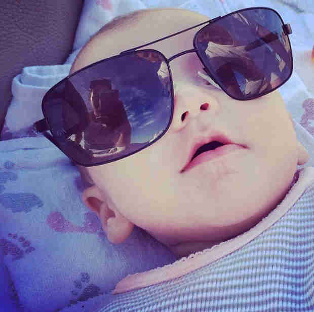 "See Tammin Sursok's Adorable ""Selfie"" of Baby Phoenix (PHOTO)"