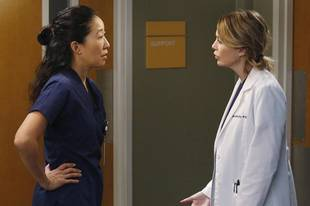 Grey's Anatomy Season 10, Episode 12 Spoilers: Cristina and Mer Seething, April Crazed!