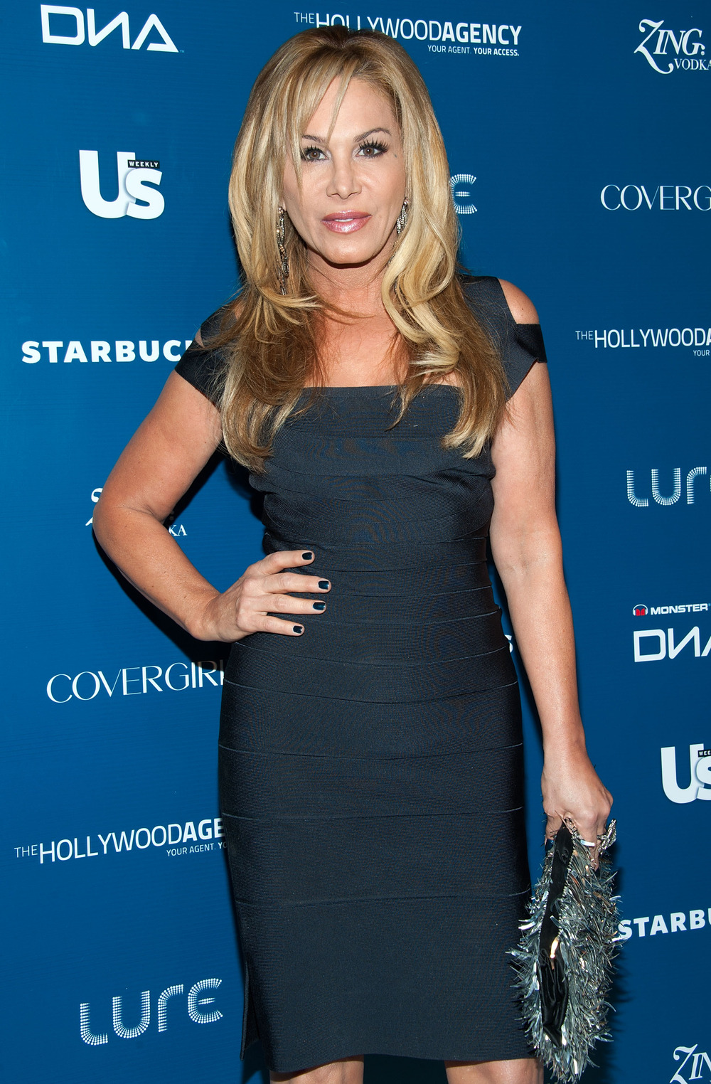 Police Shut Down Adrienne Maloof's Christmas Party — Which Housewives Were There?