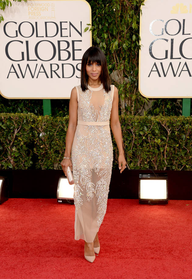 Kerry Washington Earns 2014 Golden Globe Nomination for Scandal — Finally!