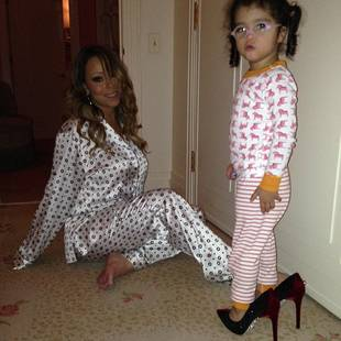 Mariah Carey's Daughter Monroe Struts Her Stuff in Mommy's High Heels (PHOTO)