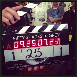 Fifty Shades of Grey Starts Filming — See Jamie Dornan and Dakota Johnson on Set!