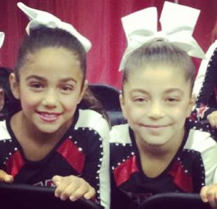Melissa Gorga and Teresa Giudice Celebrate Daughters' Cheerleading Competition — Cute Pics!