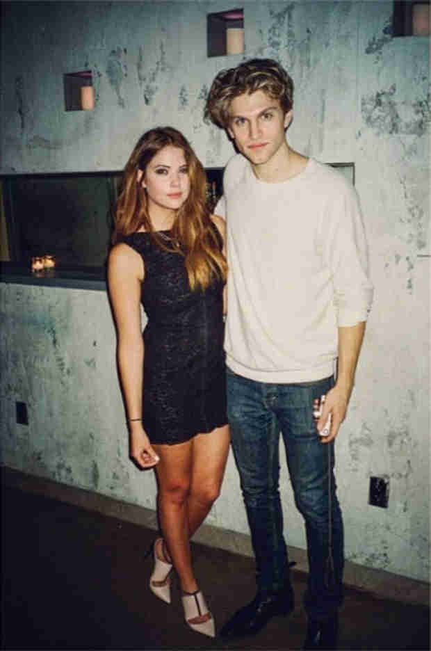 Ashley Benson and Keegan Allen Take Ridiculously Hot Pic — Hanna and Toby Shippers Unite! (PHOTO)